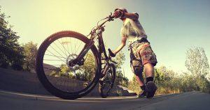 נזק גוף בטיול אופניים