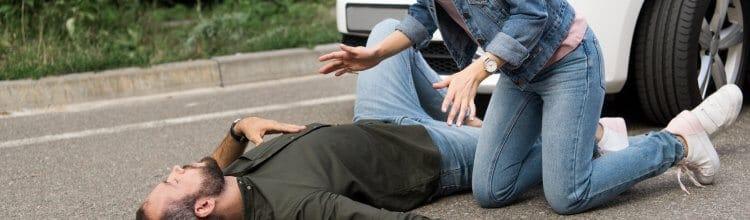 """תמונת נושא עבור הולך רגל נפגע בתאונת דרכים ו""""קרנית"""" פיצתה"""